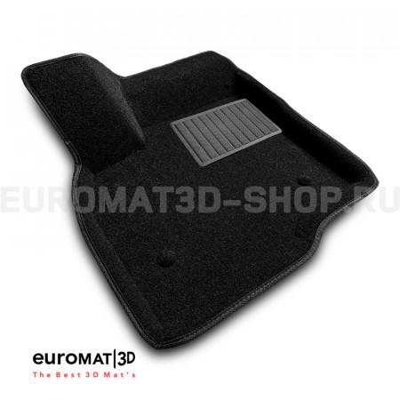 Текстильные 3D коврики Euromat3D Business в салон для Chevrolet Bolt (2016-) № EMC3D-001500