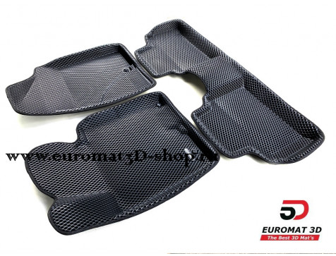 3D коврики Euromat3D EVA в салон для Hyundai i30 (2012-2018) № EM3DEVA-002706