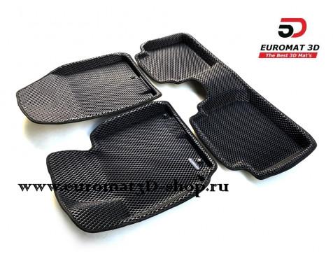 3D коврики Euromat3D EVA в салон для Hyundai Elantra (2011-2015) № EM3DEVA-002701